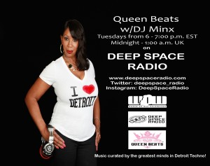 DJ Minx is on Deep Space Radio